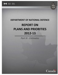 report on plans and priorities 2012-13 - Treasury Board of Canada ...