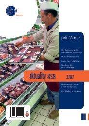 aktuality 858 2/2007 - GS1 Slovakia