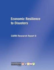 A Research Report - Community & Regional Resilience Institute