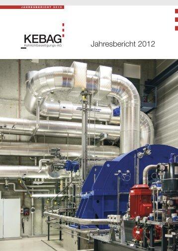 Jahresbericht 2012 - Kebag