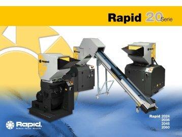 Rapid 2024 2036 2048 2060 - Rapid Granulator