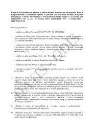 Usnesení Evropského parlamentu o sdělení Komise ... - edice