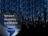 Network Neutrality and Mobile