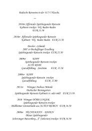 Badische Rotweine in der 0.75 l Flasche. - New Page 1