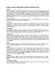 Ciągnik CASE IH MAXXUM 125 MULTICONTROLLER - Tech-Kom