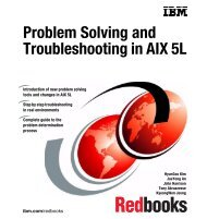 Problem Solving and Troubleshooting in AIX 5L - IBM Redbooks
