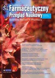 Pokaż cały numer - FPN - Farmaceutyczny Przegląd Naukowy