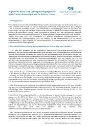 AGBs als PDF herunterladen - Princess Cruises