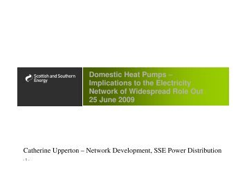 Domestic Heat Pumps – Implications to the Electricity Network of ...