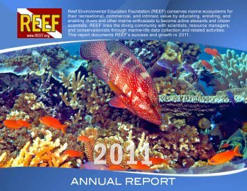 REEF Annual Report 2011