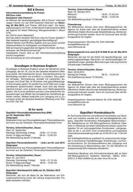 51. Durbacher Weinfest