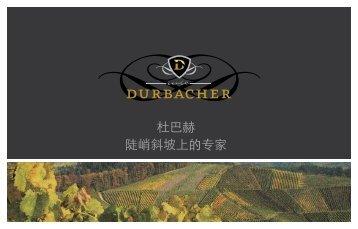 杜巴赫陡峭斜坡上的专家 - Durbacher Winzergenossenschaft