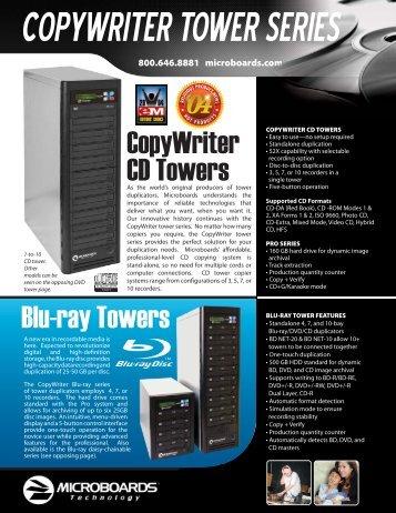 CopyWriter CD Towers Blu-ray Towers - AVsuperstore.com