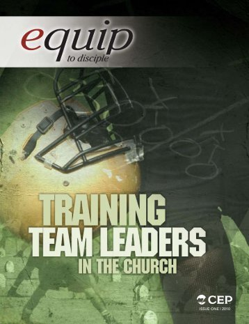 Issue One | 2010 - Christian Education and Publications