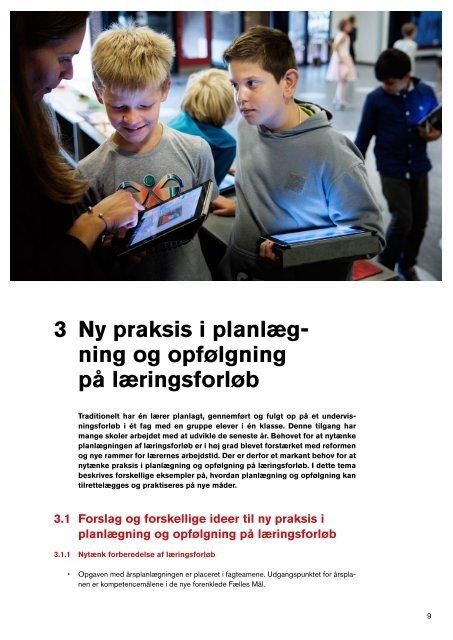 Ny praksis i folkeskolen