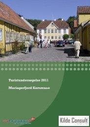 Turistundersøgelse (PDF) - Cittaslow-Mariager.dk