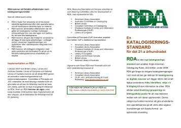katalogiserings - Joint Steering Committee for Development of RDA