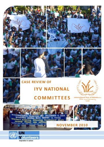 Case review of IYV National Committees - World Volunteer Web