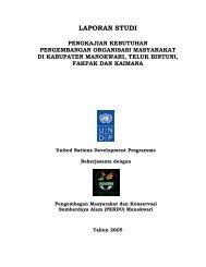laporan studi pengkajian kebutuhan pengembangan - UNDP