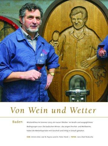 Von Wein und Wetter - Schlossgut Diel