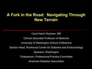 Intensive Glycemic Control - Washington Association of Diabetes ...