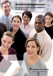 Använd kompetensen! - SLL Tillväxt, miljö och regionplanering ...