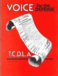 J - Voice For The Defense Online