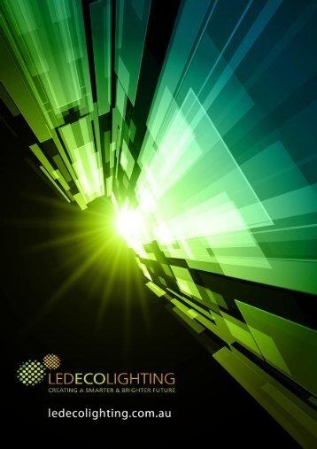 LED PRODUCTS BROCHURE.pub - LED ECO LIGHTING