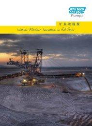 矿业流程泵 - Watson-Marlow