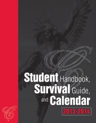 Student Handbook - Casper College