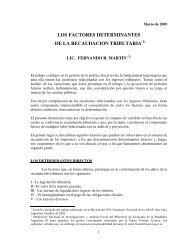 Factores determinantes v.09.pdf - Estimaciones Tributarias