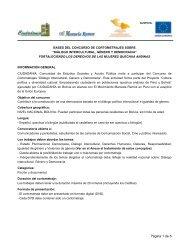 bases del concurso - Ciudadania Bolivia