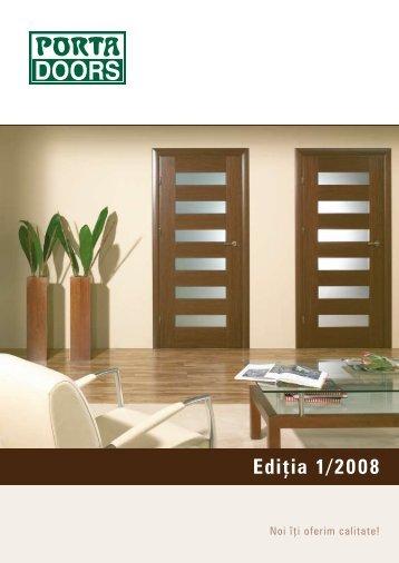 catalogul PortaDoors - Usi Porta Doors