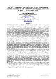 botany teaching in portugal and brazil - Fernando Santiago dos ...