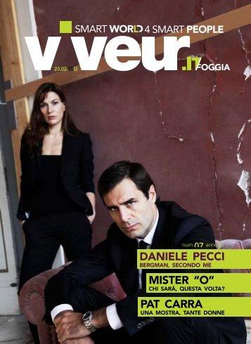"DANIELE PECCI MISTER ""O"" PAT CARRA - Viveur"