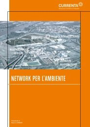 Network per l'ambieNte - Currenta