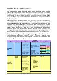 PUSAT SUMBER SEKOLAH - Bahagian Teknologi Pendidikan