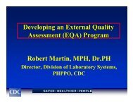 EQA - Centers for Disease Control and Prevention