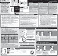 0301629 Maestro CL Instruction sheet - Lutron