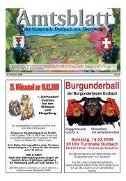 Burgunderball der Burgunderhexen Durbach