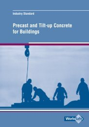 Precast and Tilt-up Concrete for Buildings - WorkSafe Victoria