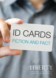 ID Cards Booklet, December 2008 - Liberty