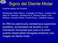 Signo del Diente Molar - Congreso SORDIC