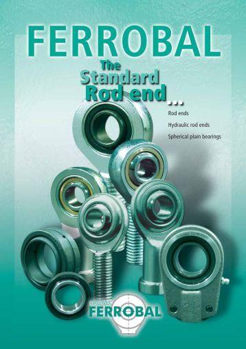 Ferrobal Rod ends, Hydraulic rod ends, Spherical plain bearings ...