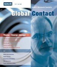 Theme : Energy storage - DNV Kema