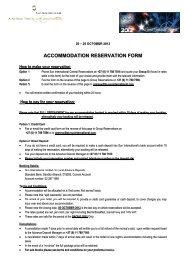 SAOUG 2012 - Reservation Form 1