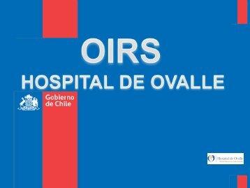 Presentacion OIRS Hospital Ovalle. - Servicio de Salud Coquimbo ...