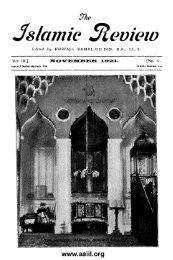 Nov - Ahmadiyya Anjuman Isha'at-e-Islam Lahore