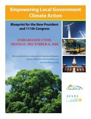 CC Blueprint Media.indd - ICLEI Local Governments for ...
