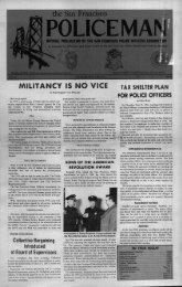June 1981 - San Francisco Police Officers Association